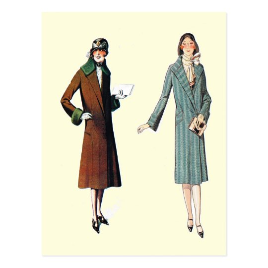Simple coats for everyday wear postcard