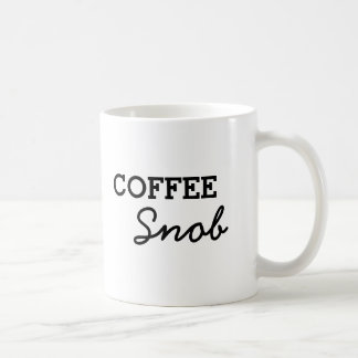 Simple Coffee Snob Coffee Mug