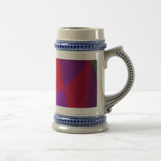 Simple Contrast Abstract Composition Coffee Mugs