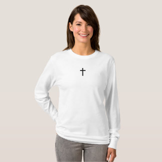 Simple Cross (Black) T-Shirt