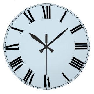 Simple customizable roman numerals large clock