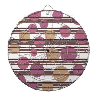 Simple decorative pattern dartboard