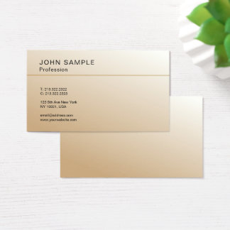 Simple Design Professional Elegant Color Harmony Business Card
