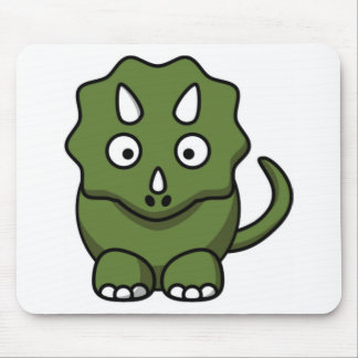 simple dino mouse pad
