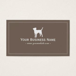 Simple Dog Plain Business card