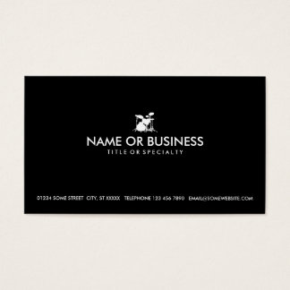 simple drums business card