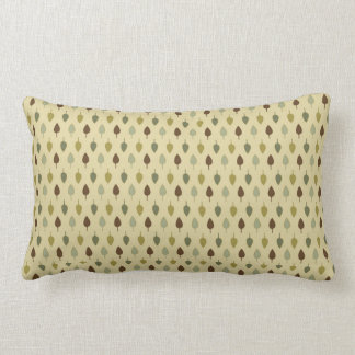 Simple Earth Leaves Lumbar Pillow