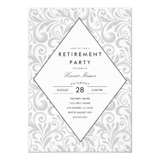 Simple Elegance | Retirement Party Invitation