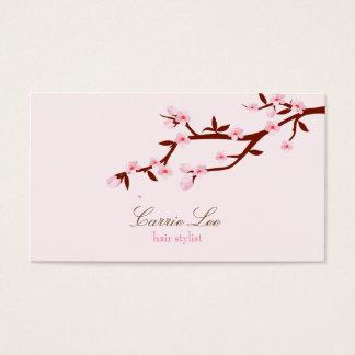 Simple Elegant Cherry Blossom Sakura Business Card