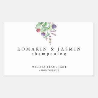 Simple Elegant Label Handmade Organic Holistic