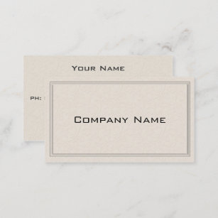 Floral border office products supplies zazzle ca simple embossed floral border business card reheart Image collections