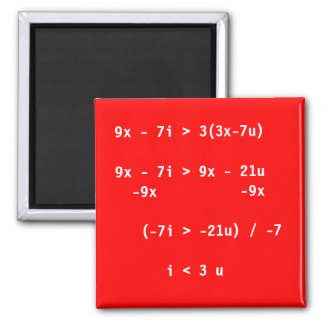 Simple Equation Magnet