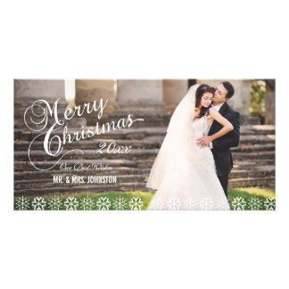 SIMPLE FIRST CHRISTMAS HOLIDAY PHOTO CARD