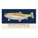 Simple Fishing Charter Boat Guide Business Fish Pack Of Standard Business Cards