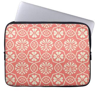 Simple floral pattern 13-inch macbook sleeve computer sleeves