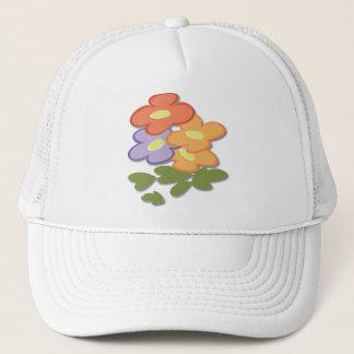 Simple Floral Trucker Hat
