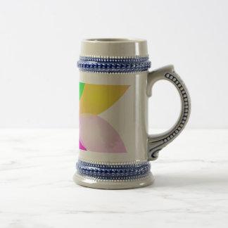 Simple Flower Art Coffee Mugs