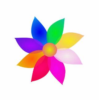 Simple Flower Art Photo Sculpture