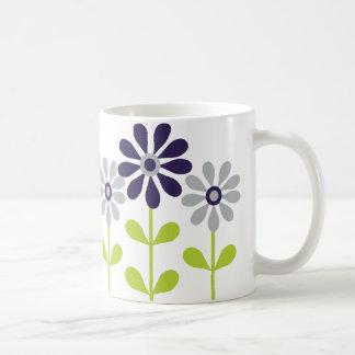 Simple Flowers Classic White Coffee Mug