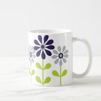 Simple Flowers Coffee Mugs