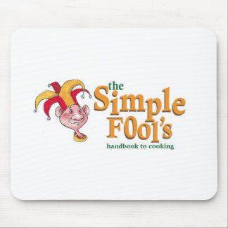 Simple Fool's Logo Mousepad