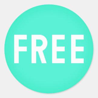 Simple FREE Emoji Classic Round Sticker