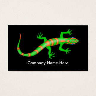 Simple Gecko Control Business Cards