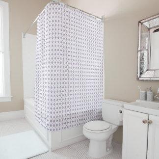 Simple geometric pattern purple × white