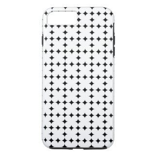 SIMPLE GEOMETRIC SHAPES PATTERN TEXTURE iPhone 8 PLUS/7 PLUS CASE
