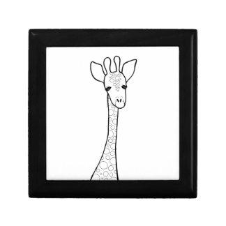 Simple Giraffe Gift Box