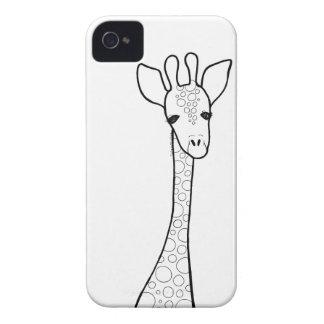 Simple Giraffe iPhone 4 Cover