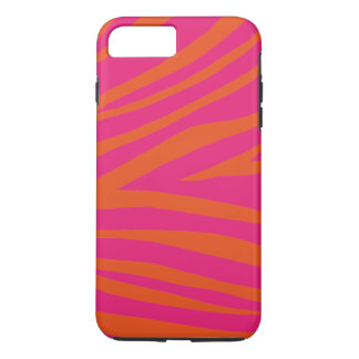 Simple Girly Zebra Stripes Texture Personalized iPhone 8 Plus/7 Plus Case