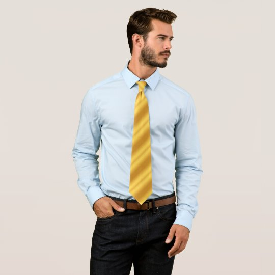 Simple gold tie