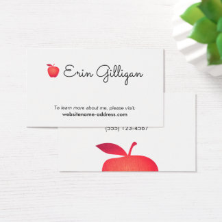 Custom Teacher Business Cards Zazzleca