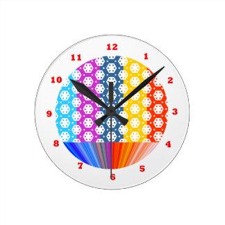 Simple Graphics - Exotic Happy Patterns Clocks