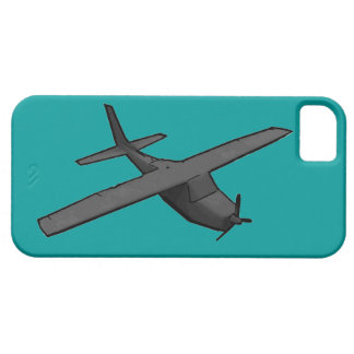 Simple gray propeller plane hobby iphone 5 case