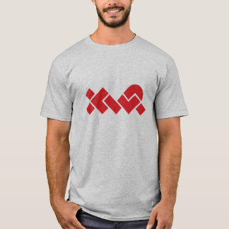 Simple Gray/Red T-Shirt