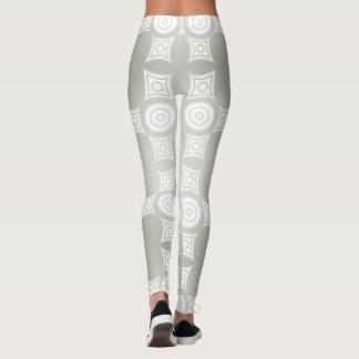 Simple Grey Patterned Leggings