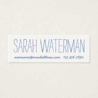 Handwritten business cards business card printing for Handwritten business cards