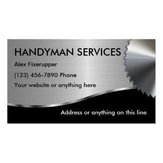 Simple Handyman Business Cards