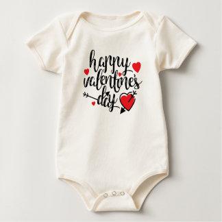 Simple Happy Valentine's Day Bodysuit