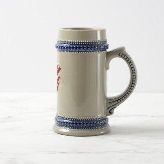 Simple Heart 18 Oz Beer Stein