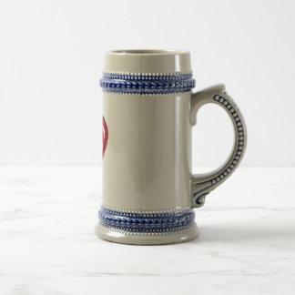 Simple Heart Beer Stein