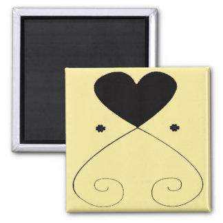 Simple Heart Magnet Cream