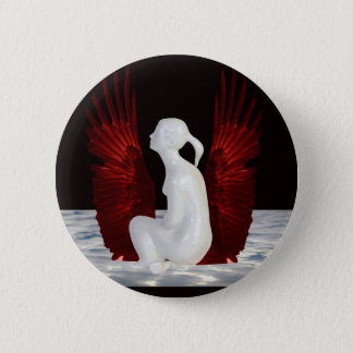 Simple Heaven 2 Inch Round Button