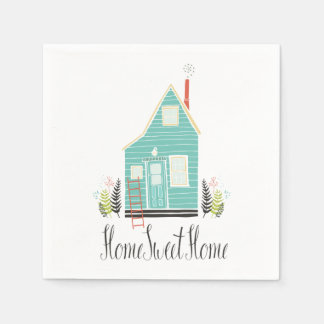Simple Home Sweet Home | Napkin