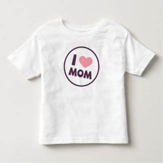 Simple I Love Mom Mother's Day | Shirt