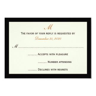 Simple Inexpensive RSVP Invitation Cards