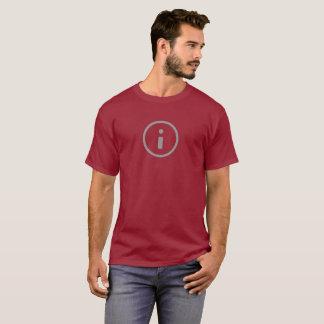 Simple Info Icon Shirt