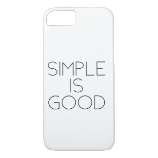 Simple is good iPhone 8/7 case